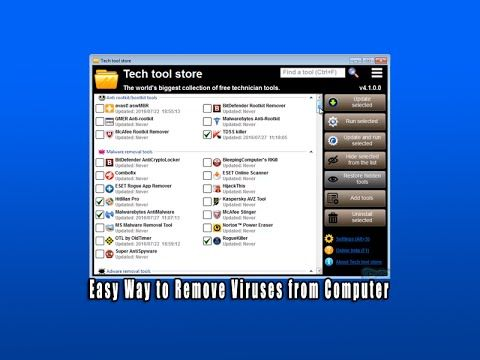 easy way to remove viruses from computer pc tech videos and repair