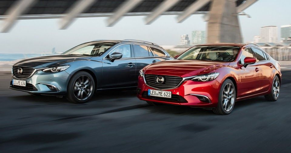 Updated 2017 Mazda6 Arrives In The UK With More Tech, Improved Diesel [69  Pics