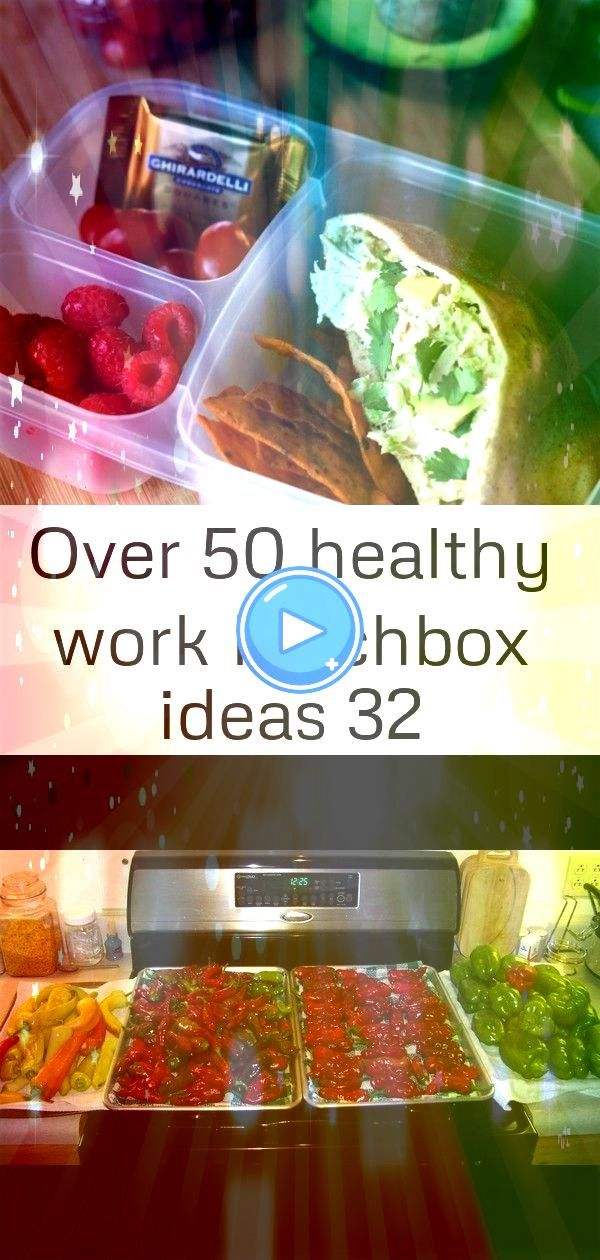 50 healthy work lunchbox ideas 32 50 healthy work lunch ideas   Avocado Chicken Salad Packed for lunch This has been the year of the pepper We have not been able to hardl...