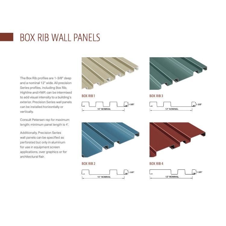 Petersenaluminum Precision Series Box Rib Architectural Wall Panels Provide Design Flexibility By Combini In 2020 Architectural Wall Panel Metal Wall Panel Metal Roof