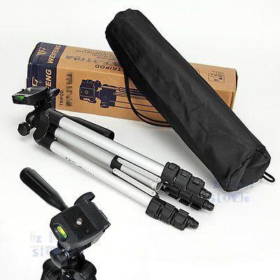 Pro-Camera-Tripod-Tilt-Pan-Head-WT3110A-for-Camcorder-DSLR-Canon-60D-Nikon-D80