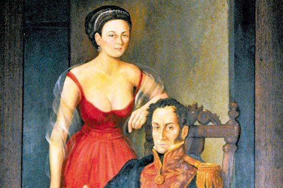 Las Manuelas Bolivar Simones Pasado Y Presente