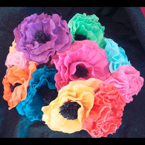 Large mexican paper flowers ariels couples shower pinterest large mexican paper flowers mightylinksfo
