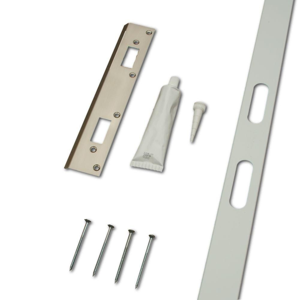 Safe Door Systems Home Security Door and Frame Reinforcement Kit ...