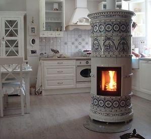 die klassischen kachelofen von castellamonte sind echte blickfanger, ceramic tile stove by kominki batura (manufaktura nakomiady, Ideen entwickeln
