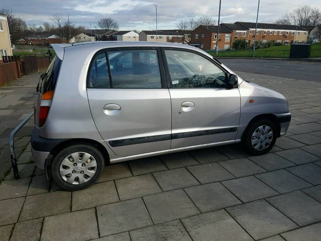 Hyundai amica 2000 october MOT 1.0 automatic 61k cheap
