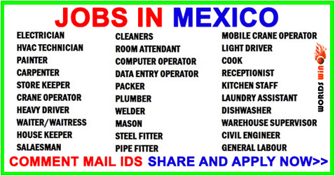 Jobs Hiring In Mexico Apply Now How To Apply Job Job Information