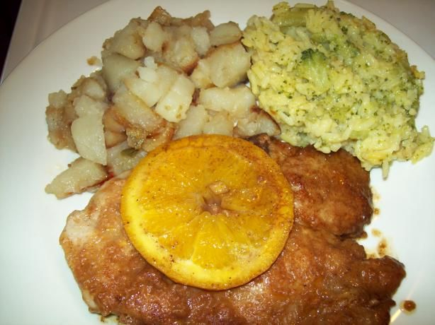 Orange Baked Pork Chops. Photo by DarksLight