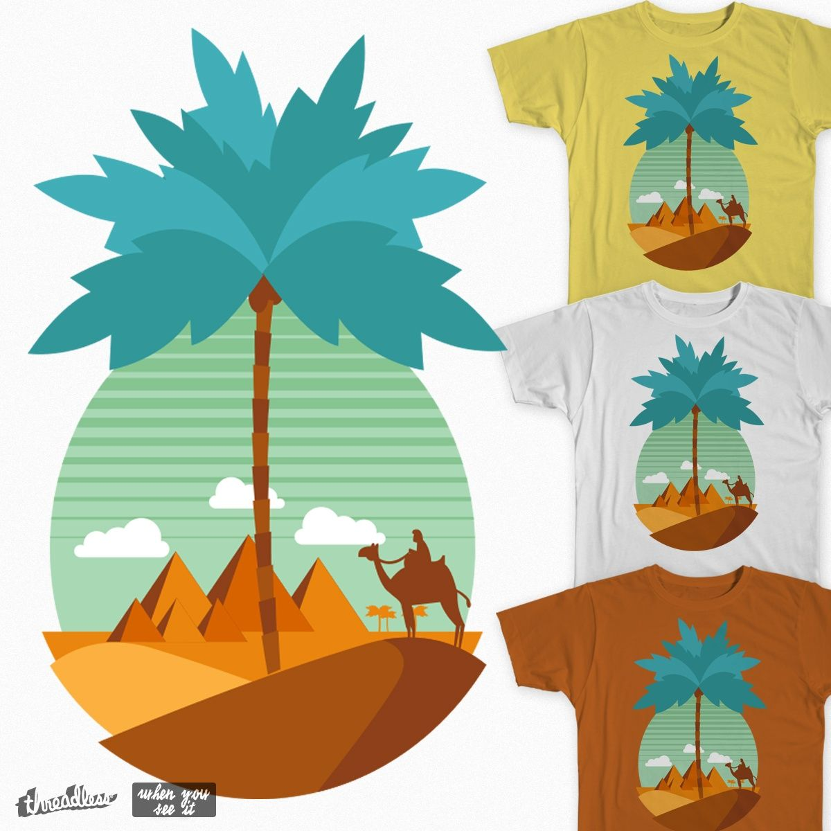 PINEAPPLE on Threadless