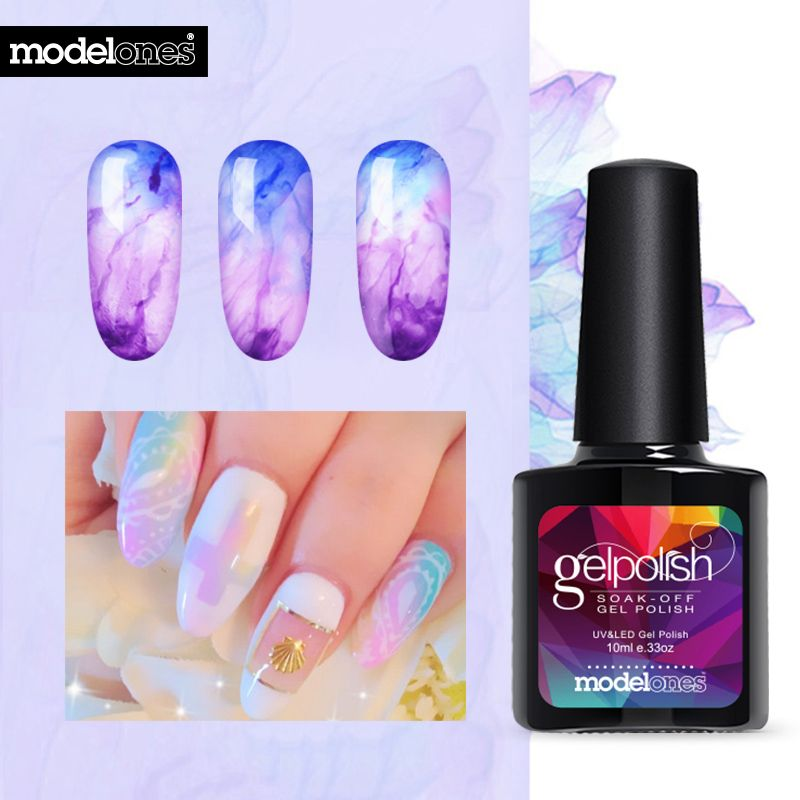 Modelones Newest 10ML Blossom Gel Polish DIY Nail Art Design Blossom ...
