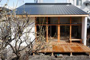 宇都宮の市街地に建つ、自然エネルギーを取込む、 暖かい住宅の紹介です。