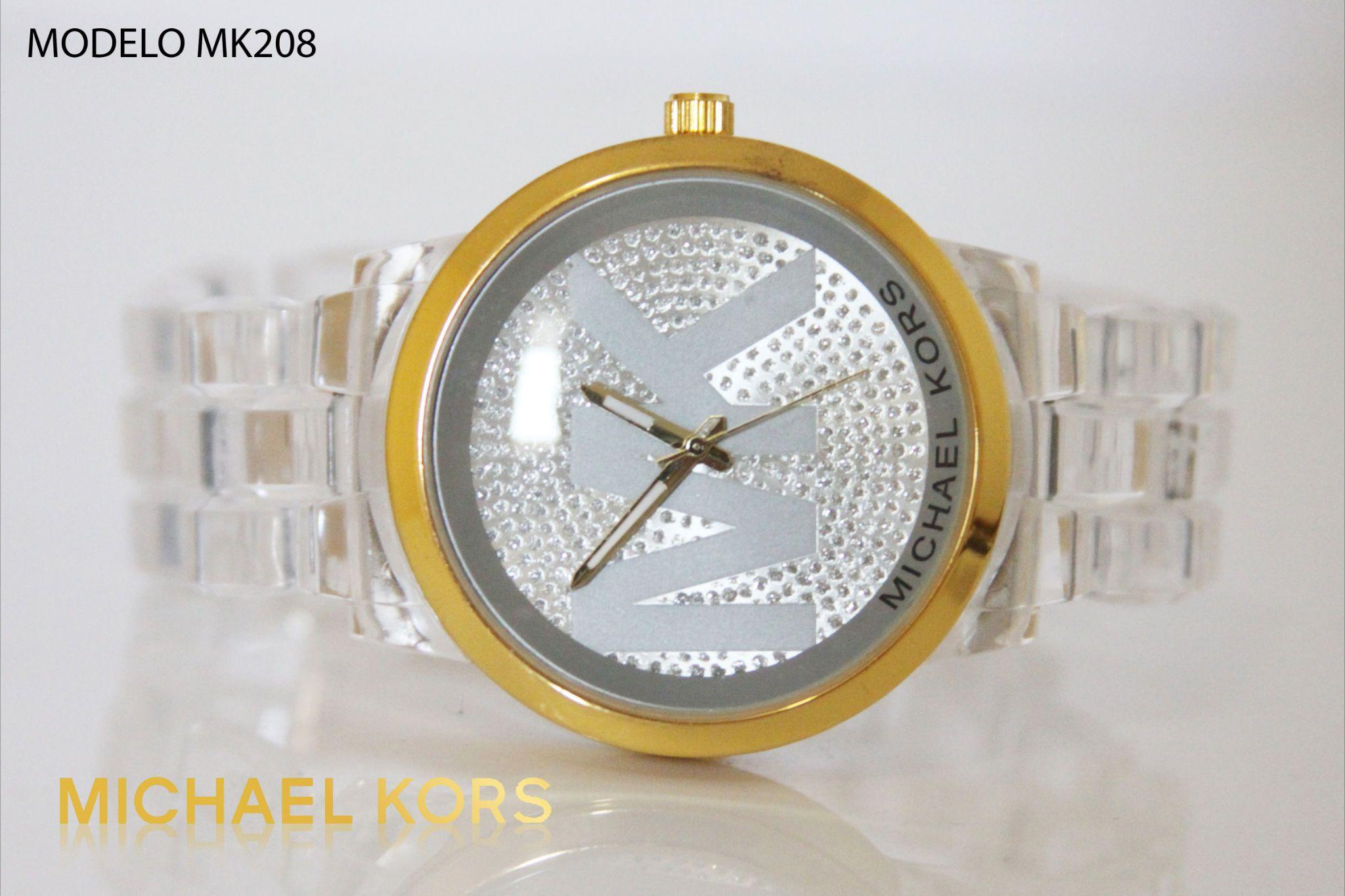 Reloj Michael kors dama transparente   Relojes Michael Kors Dama e4f0424040