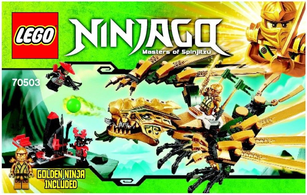 NEW LEGO NINJAGO GOLDEN DRAGON MASTER MINIFIGURE DRAGON PIT TEENAGE WU