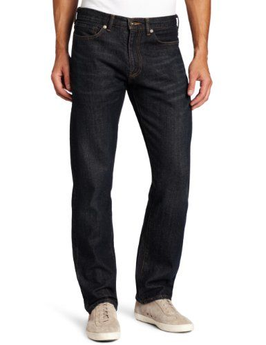 bb96da00 Dockers Men's 5 Pocket D2 Straight Fit Jean, Deep Blue, 40x30 Dockers,http