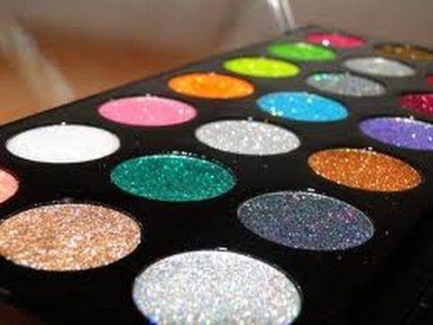 Maquillaje Sencillo con Glitter y Labial Uva (Jeamileth Doll) - YouTube