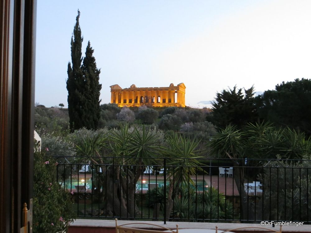 Hotel Villa Athena Agrigento Room With A View Agrigento World Heritage City Scenic Views
