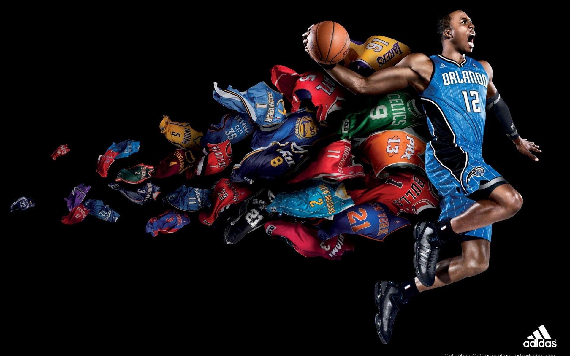 Basketball Dark Dwight Howard Nba Sports 1080p Wallpaper Hdwallpaper Desktop Basketball Wallpapers Hd Sports Wallpapers Basketball Wallpaper