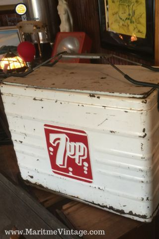 7 Up Vintage Cooler Project Idea Your Personal Home Designer Makeover |  Entryway Table Top Package | A New Way To Shop | Your Personal Home Decor  Su2026 ...