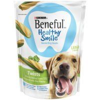 Purina Beneful Healthy Smile Twists Large Dog Snacks Case Of 5