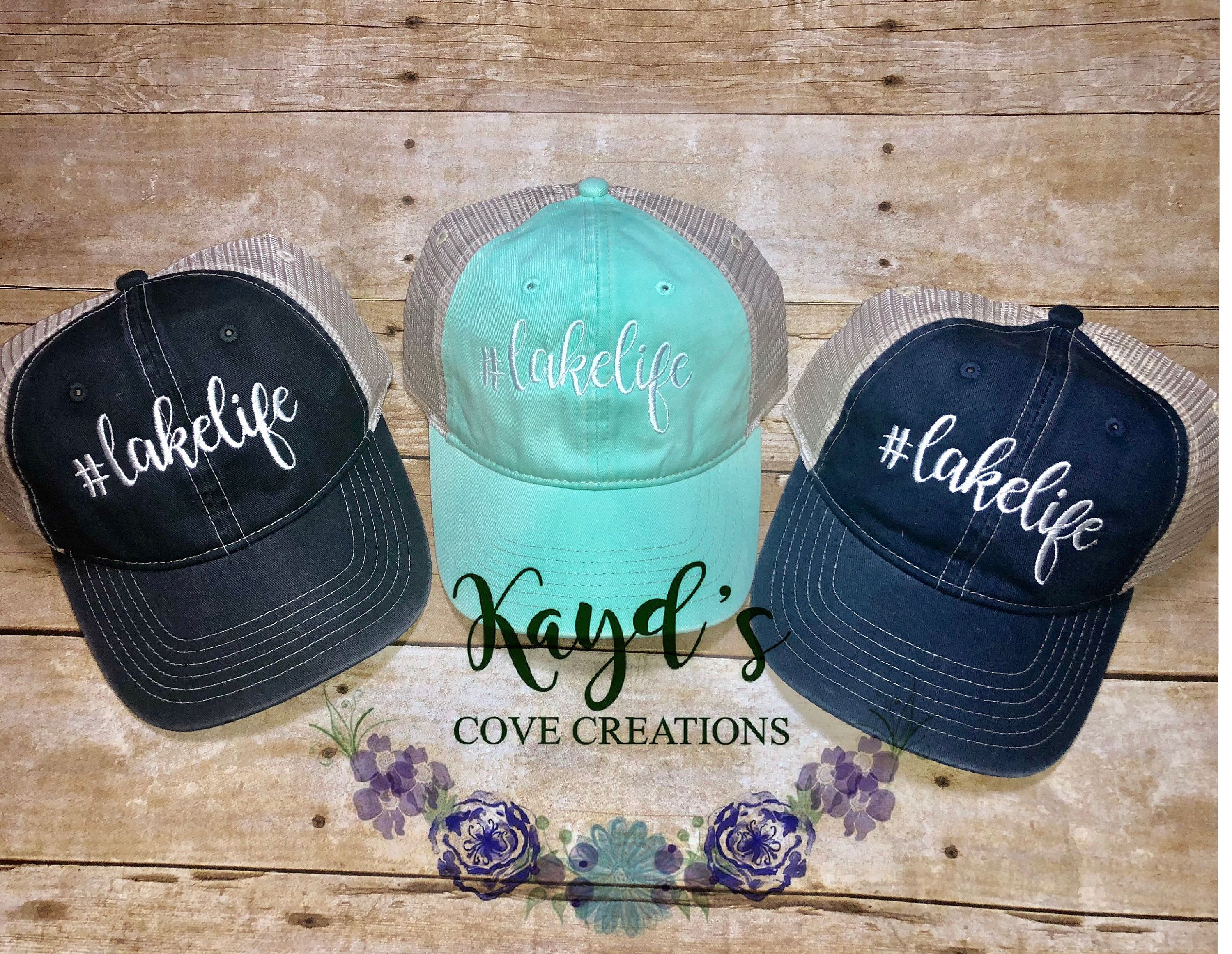 38a96fd77 Lake Life Hat - Lake Hat - Comfort Colors Hat - LakeLife - #LakeLife ...