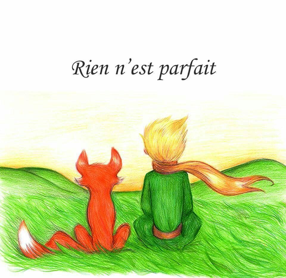 Картинки маленького принца и лиса для срисовки