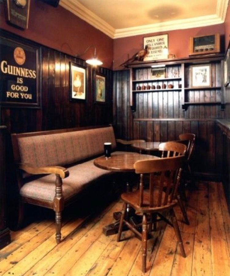 Unique Irish Pub Basement