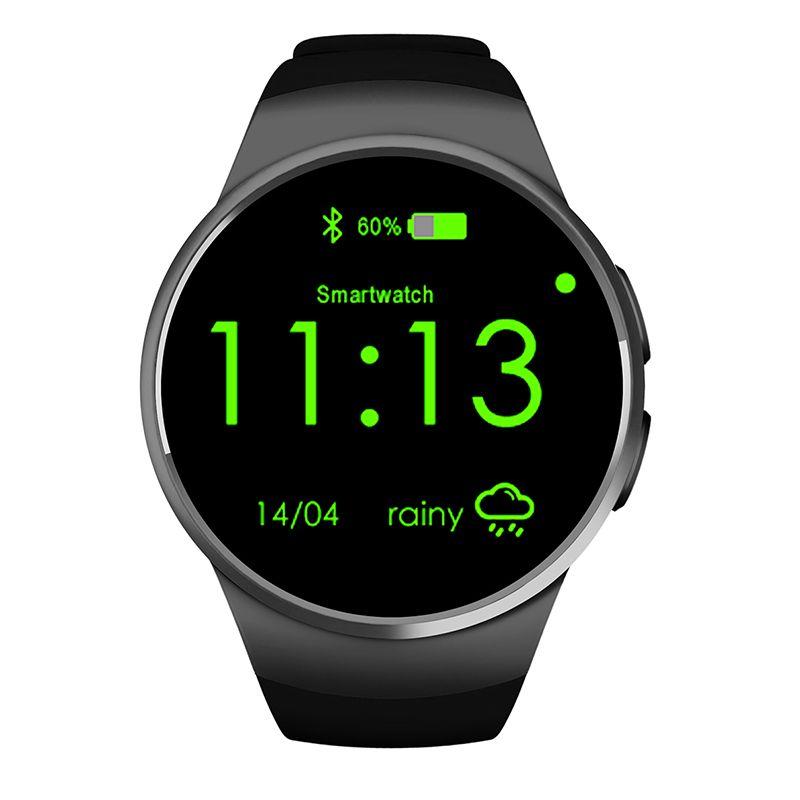Original Kw18 Smart Watch Sim Mtk2502c Smartwatch Bluetooth Android Ios Smart Watches For Apple Samsung Moto 36 Smart Watch Smart Watch Android Bluetooth Watch