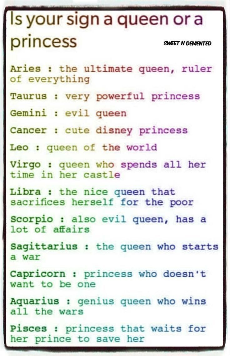 Is your sign a queen or a princess -  Bilzer Blog - #astrologyaesthetic