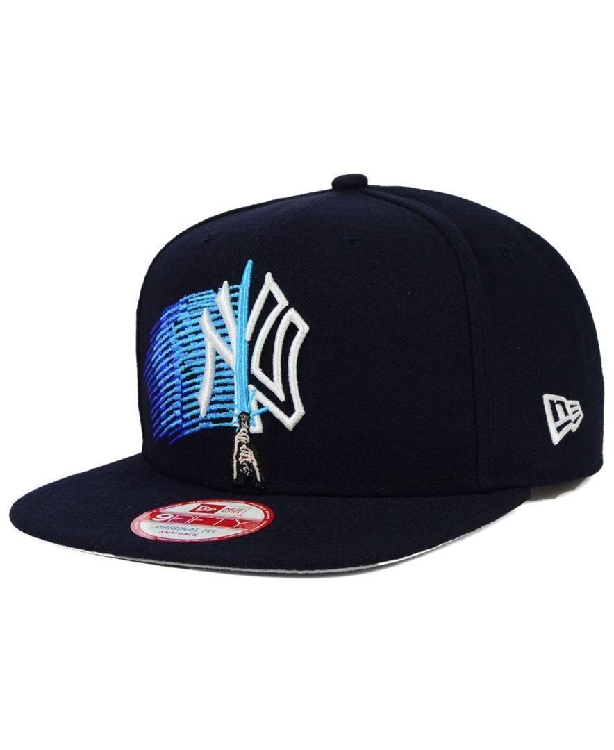 New Era New York Yankees Star Wars Logoswipe 9fifty Snapback Cap Sports Fan Shop By Lids Men Macy S New Era Cap New York Yankees Snapback Cap
