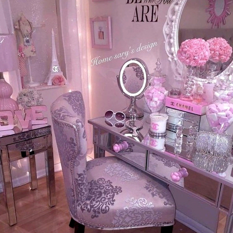 28 Diy Simple Makeup Room Ideas Organizer Storage And Decorating Bedroom Decor Pink Bedroom Decor Cute Room Decor