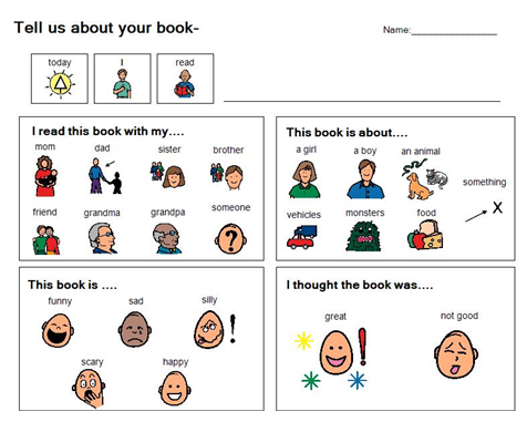 Boardmaker Achieve Boardmaker Book Review Template Preschool Books