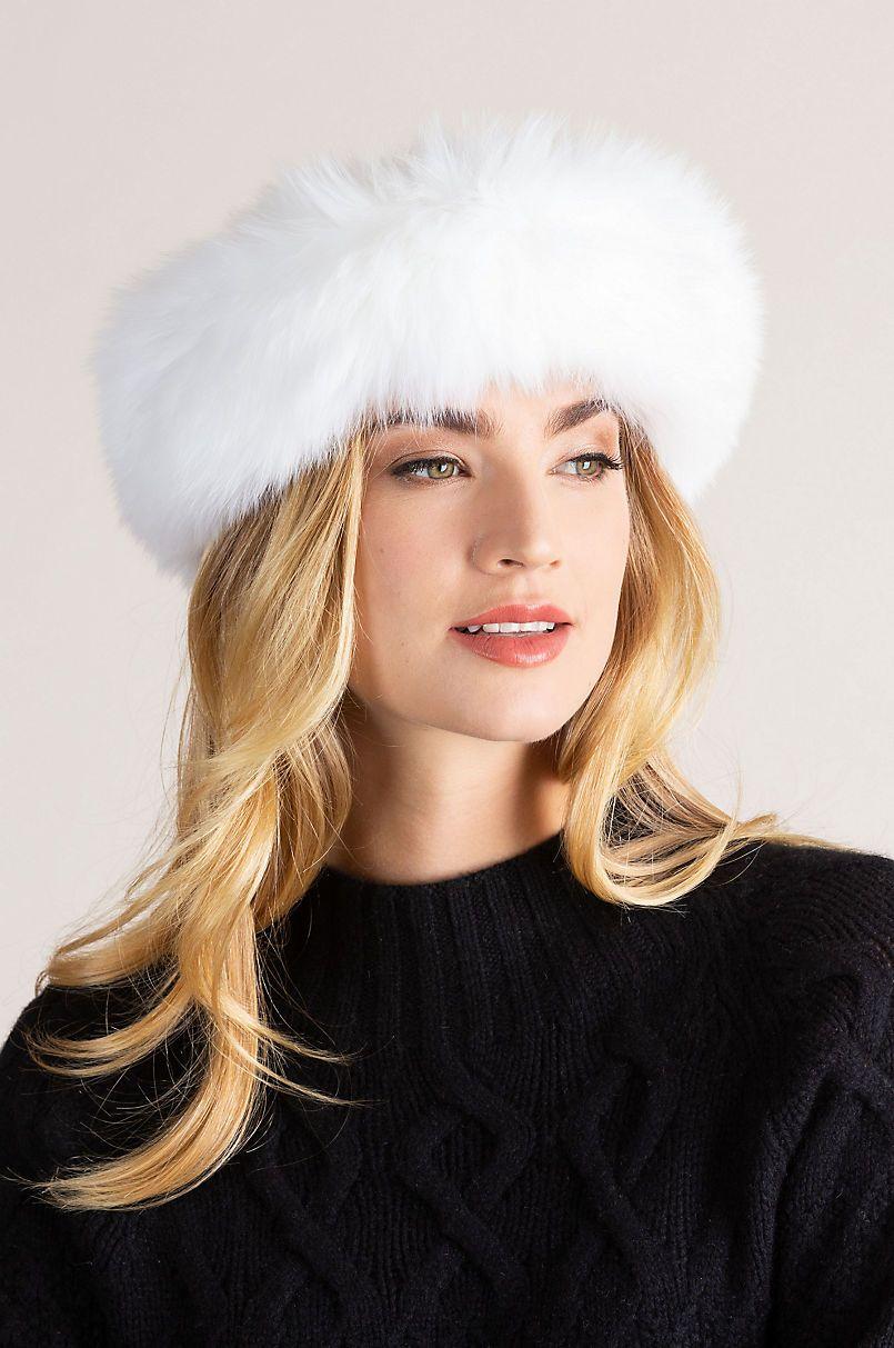 5c3e7f3c2cb936 Finnish Fox Fur Convertible Headband and Neck Warmer in 2019 | Hats ...