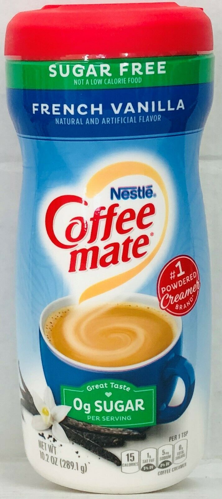 Nestle Coffee Mate Sugar Free French Vanilla Creamer 10.2
