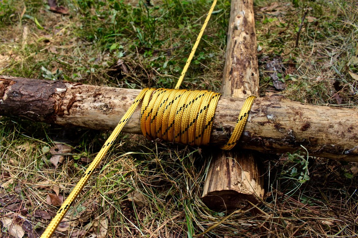 OffGrid Winch Incredible Power from Two Logs and a Rope