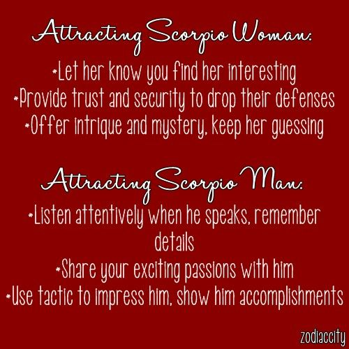 You Man Do Scorpio How A Attract