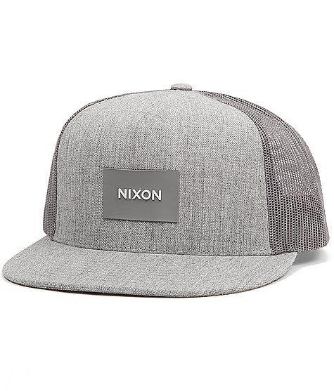 104b657a859 Nixon Team Trucker Hat at Buckle.com