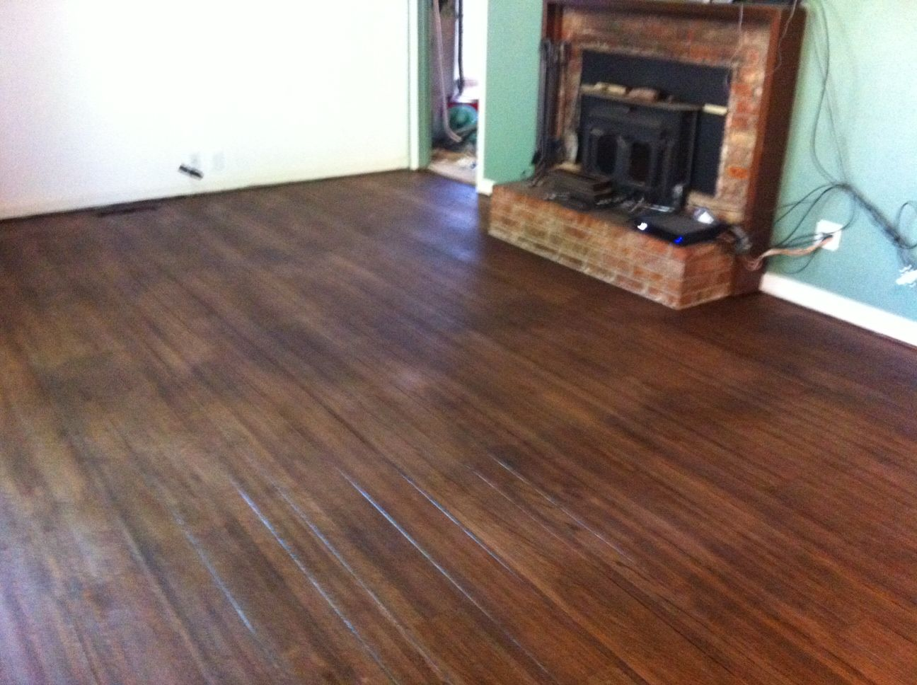 Pre Poly Duraseal Antique Brown Stain