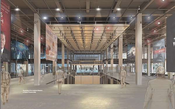 A Look At Plans For The Academy Movie Museum On Wilshire New