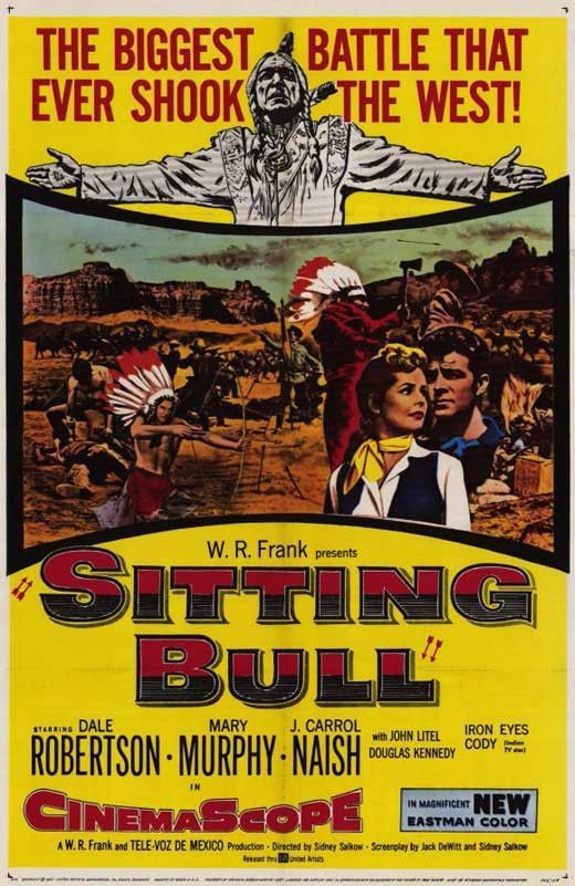 Sitting Bull 1954 Dale Robertson Dvd In 2020 Western Movies
