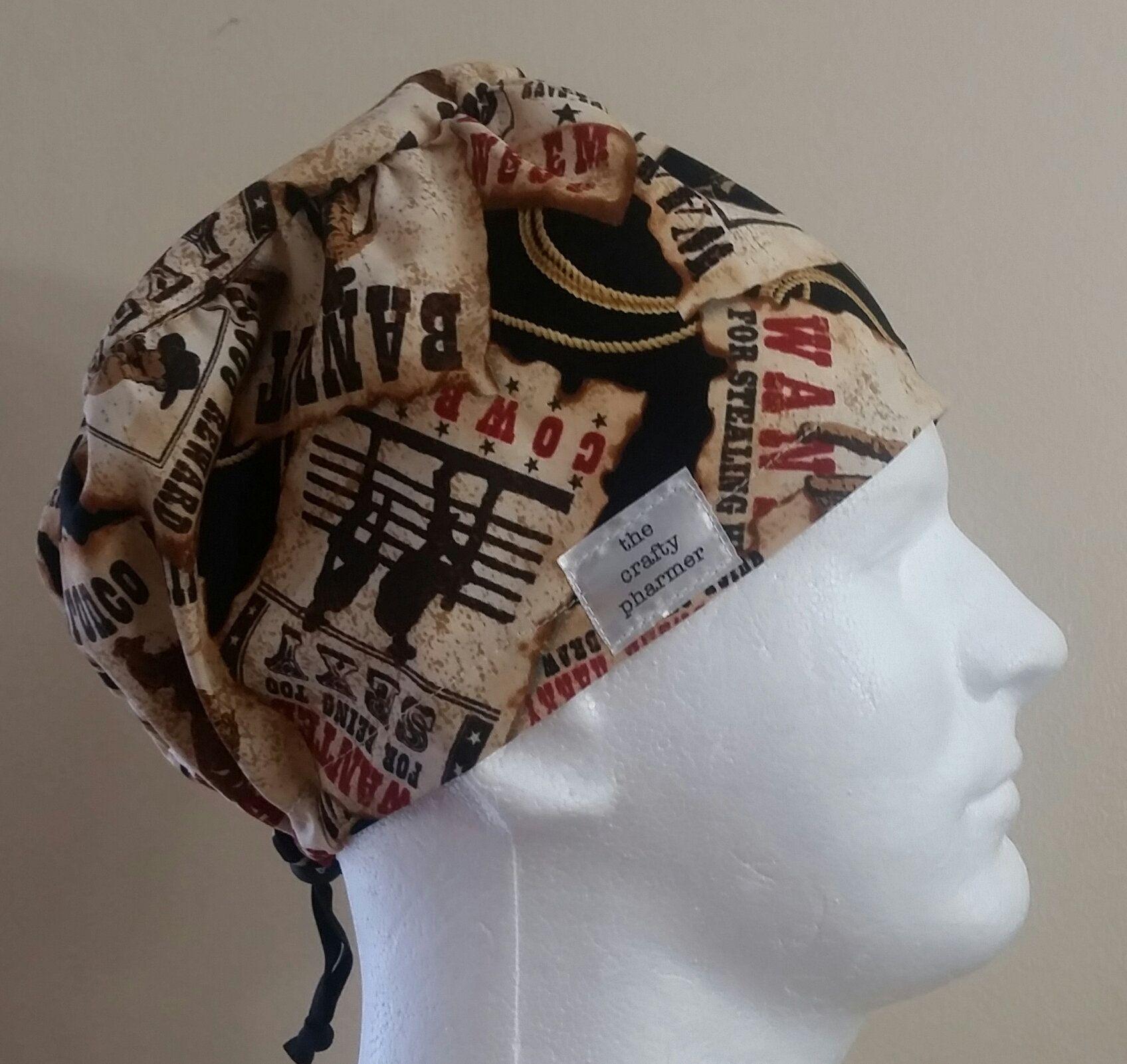 f4bae9138639a Western Most Wanted - Handmade Scrub Hats