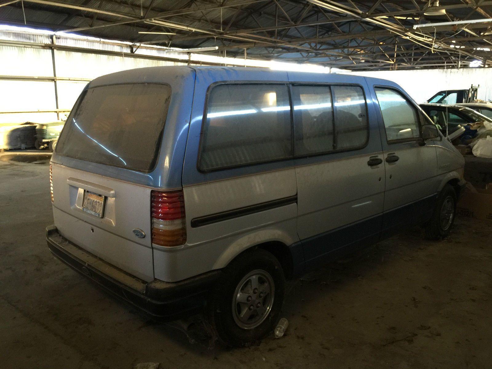 1987 Ford Aerostar Xl Mini Passenger Van 3 Door 3 0l