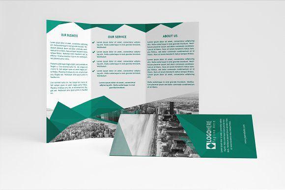 Business Green Brochure Online Brochure Maker Brochure Maker And