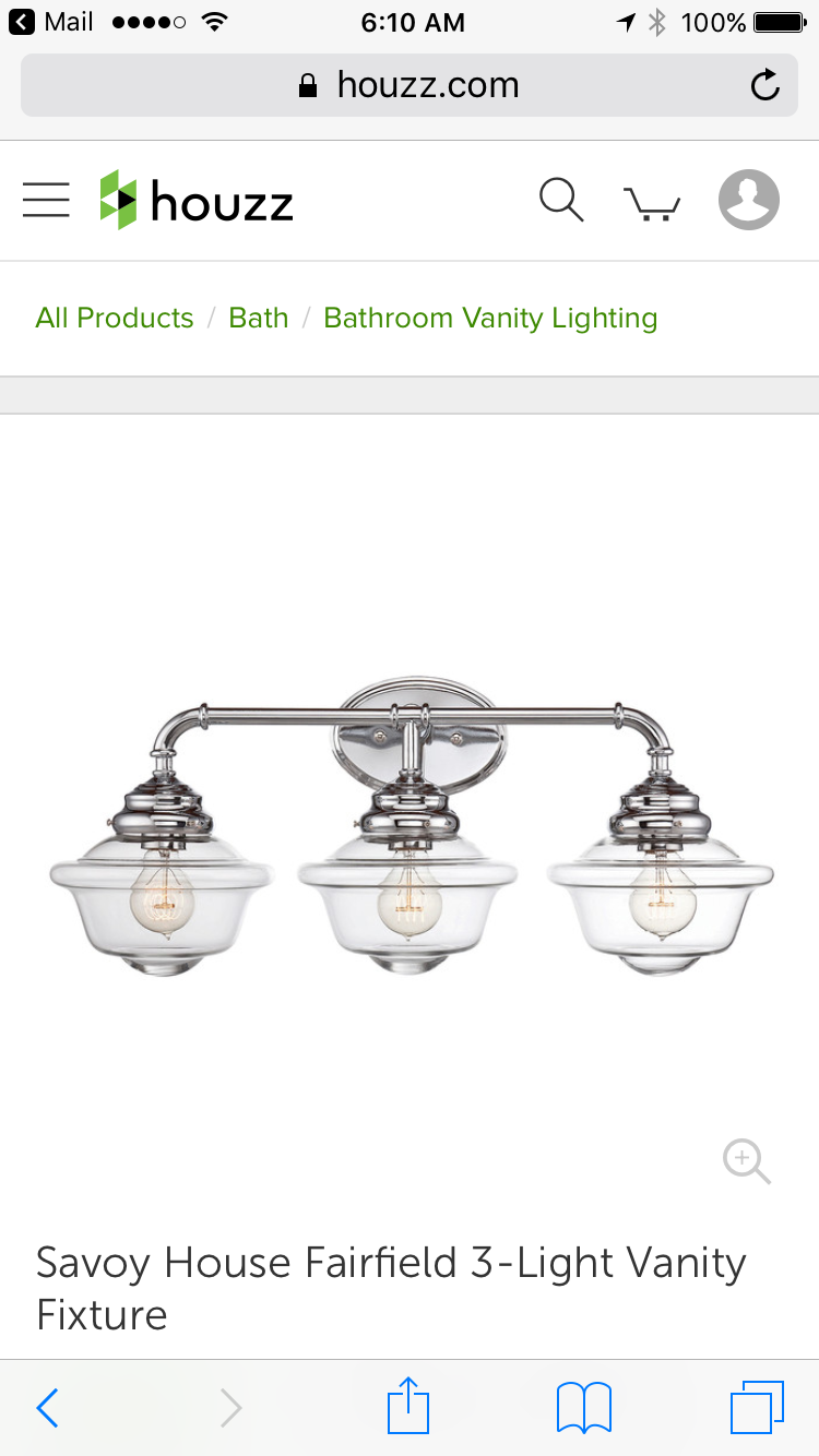 houzz bathroom vanity lighting. Savoy House Fairfield 3 Light Bath Bar In Chrome - Bathroom Vanity Lighting | Houzz