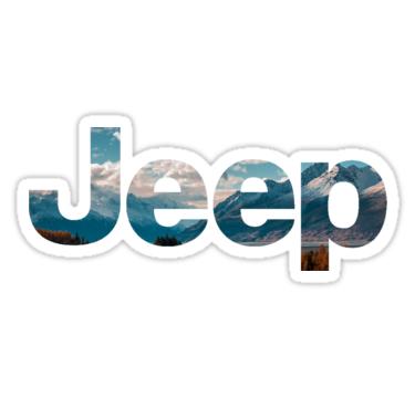 Jeep Logo Sticker Von Shawninthelawn In 2021 Logo Sticker Jeep Logos