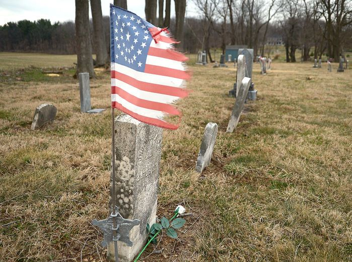 Headstones of the residents of the Lincoln Colored Cemetery, Mechanicsburg, have been broken or are suffering the effects of decades of weather. Jason Malmont/The Sentinel