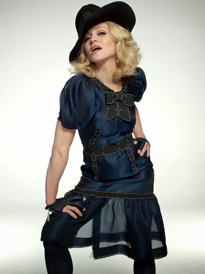 Madonna in the 80s bisexual