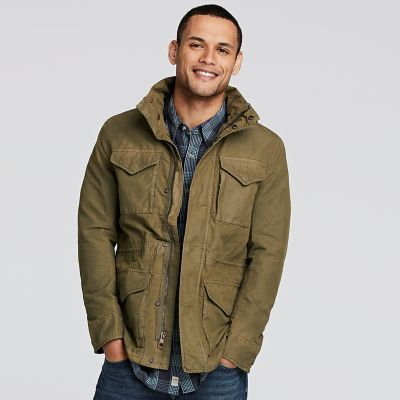 Hablar con cansado de acuerdo a  Shop Timberland.com for men's jackets, M65 jackets and all men's  outerwear: Ready for adventure. | M65 jacket, Field jacket, Mens jackets