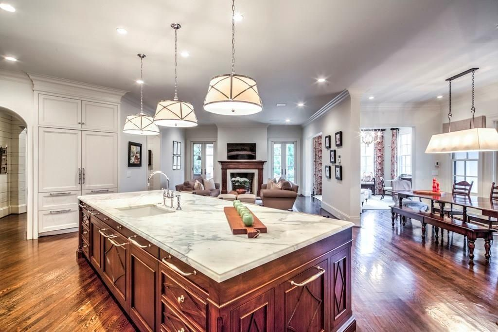 open floor plans are EVERYTHING #kitchens | Kitchen ...