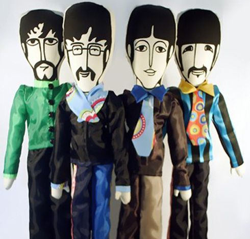 Toy The Beatles (Banda Completa) - 1 por R$89,00 ou 4 por R$349,00