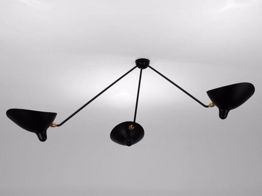 Adjustable Metal Ceiling Lamp Par3b Ceiling Lamp By Serge